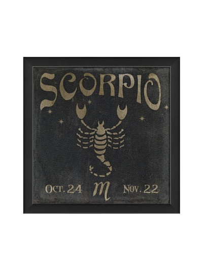 The Artwork Factory Scorpio Zodiac Framed Giclée