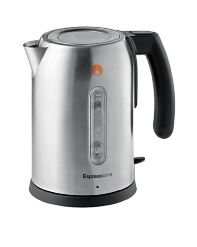 Espressione Stainless Steel Electric Kettle, 57-Oz.