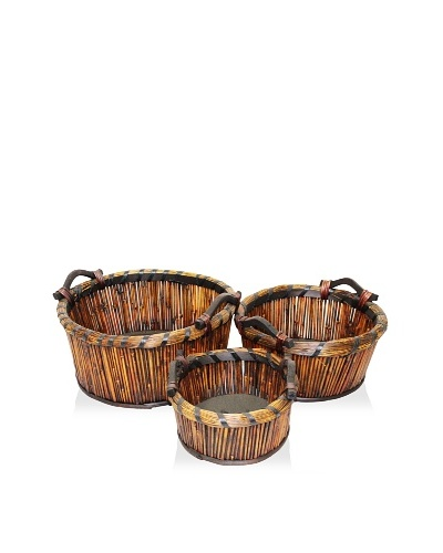 3-Piece Willow Basket