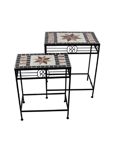 2-Piece Mosaic Table