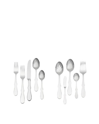 Vera Wedgwood 45-Piece Silouhette Flatware Set