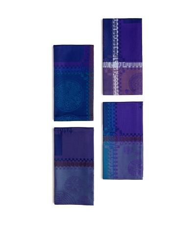 Garnier-Thiebaut Set of 4 Mille Batik Napkins