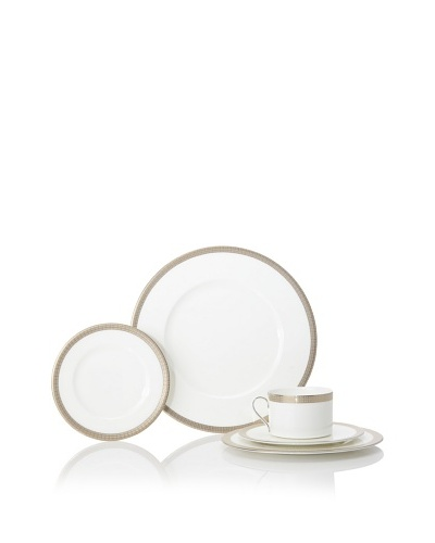 Mikasa Woven Cable Gold 5-Piece Place Setting