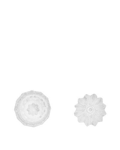 The HomePort Collection Set of 2 Knob Magnets, Clear