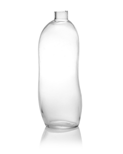 The HomePort Collections Femme Bottle, Clear, Large
