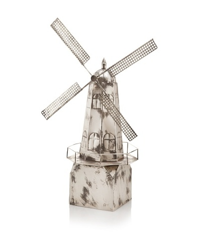 The HomePort Collection Windmill Accent, Silver