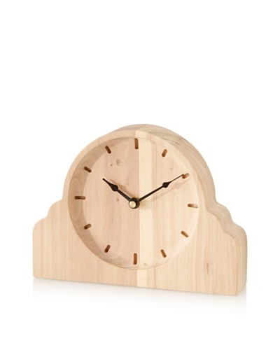 The HomePort Collection Takara Elm Clock, Natural