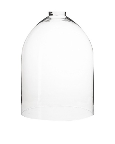 The HomePort Collections Open-Top Glass Dome