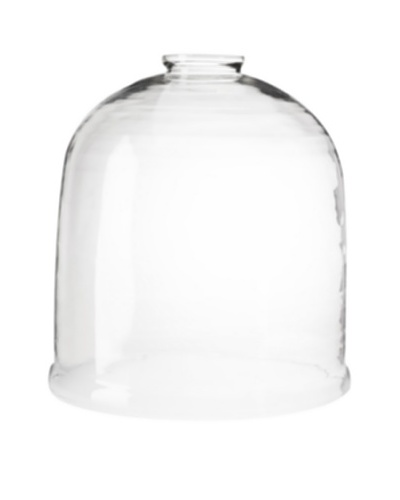 The HomePort Collections Open-Top Jumbo Glass Dome