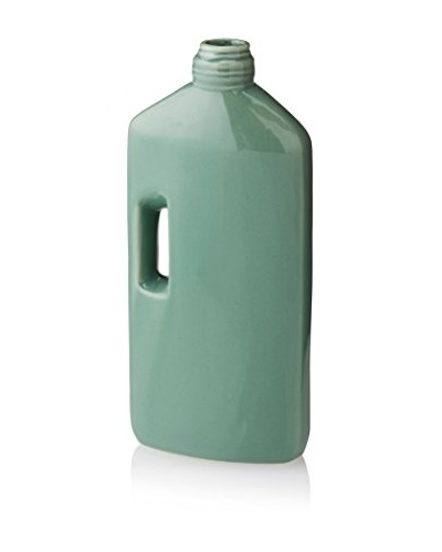 The HomePort Collections Lara Ceramic Vase, Emerald