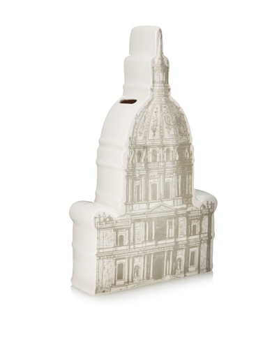 The HomePort Collections Ceramic Capital Rotunda Bank