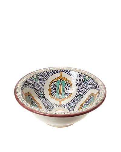 Hand-Painted Ceramic Sink Basin