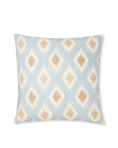 The Pillow Collection Faela Diamond Decorative Pillow [Aqua]