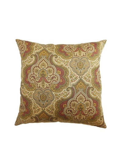 The Pillow Collection Danielle Paisley Pillow, Gold