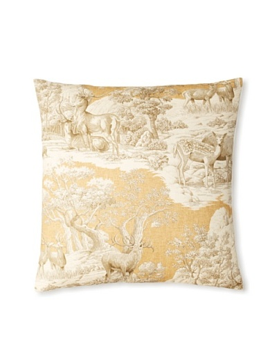 The Pillow Collection Feramin Toile Decorative Pillow [Safari]