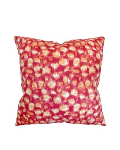 The Pillow Collection Imperatriz Geometric Pillow, Azalea, 18 x 18
