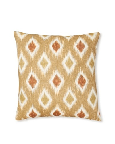 The Pillow Collection Faela Diamond Decorative Pillow [Canyon]