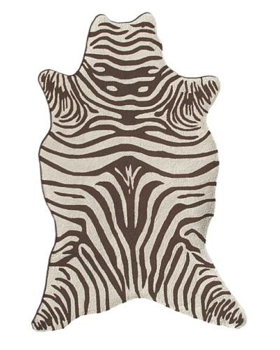 The Rug Market Zebra Shaped Indoor/Outdoor Rug