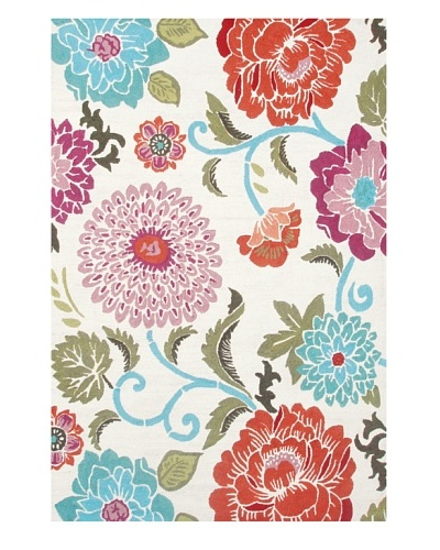The Rug Market Poppy Scrolls Indoor/Outdoor Rug