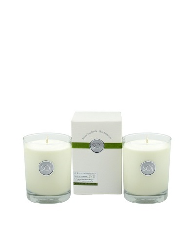 The Soi Co. Set of 2 Rosemary Lavender 13.5-Oz. Luxe Box Candles