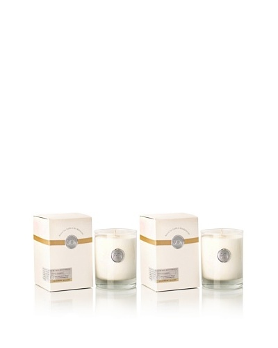 The Soi Co. Set of 2 13.5-Oz Cashmere Woods Luxe Box Candles