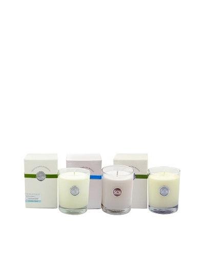 The Soi Co. Set of 3 13.5-Oz. Ocean Collection Luxe Candles