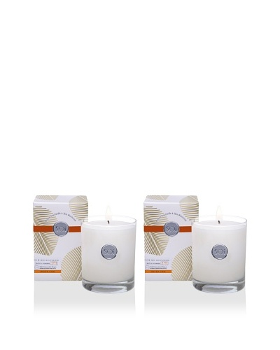 The Soi Co. Set of 2 13.5-Oz Spiced Chai Luxe Box Candles