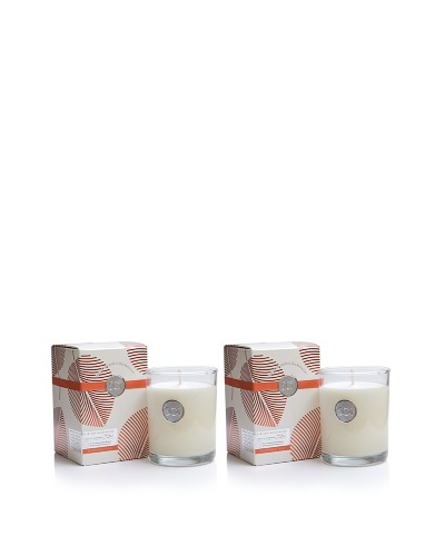 The Soi Co. Set of 2 13.5-Oz Peppermint Kiss Luxe Box Candles