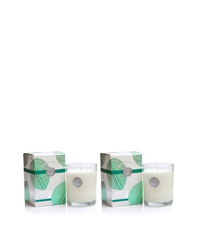The Soi Co. Set of 2 13.5-Oz Mistletoe Luxe Box Candles