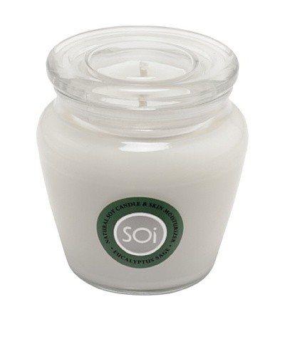 The Soi Co. Eucalyptus Sage 16-Oz. Keepsake Candle