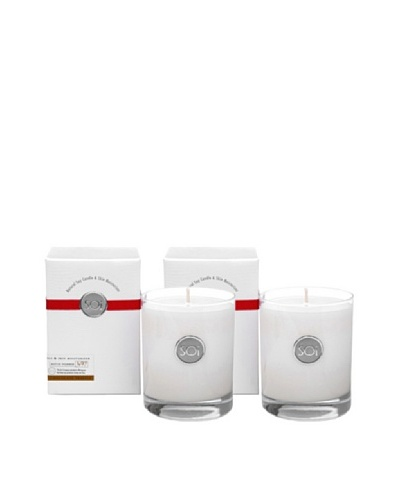 The Soi Co. Set of 2 13.5-Oz Chocolate Truffle Luxe Box Candles