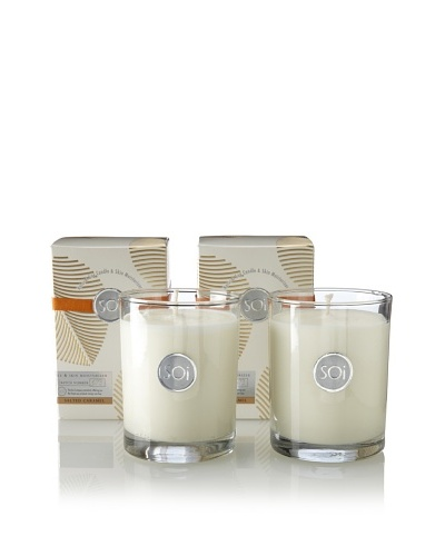 The Soi Co. Set of 2 13.5-Oz Salted Caramel Luxe Box Candles