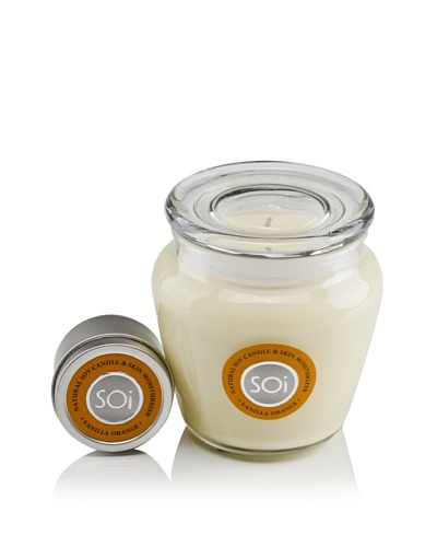 The Soi Co. 16-Oz. & 2-Oz. Candle Set, Vanilla Orange