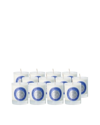 The Soi Co. Set of 12 3-Oz. Lavender Fields Votives