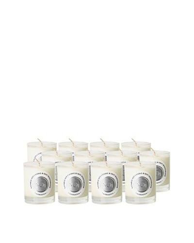 The Soi Co. Set of 12 3-Oz. Gardenia Votives