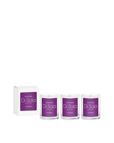 The Soi Co. Disoia 3-Pack Lavanda Votives