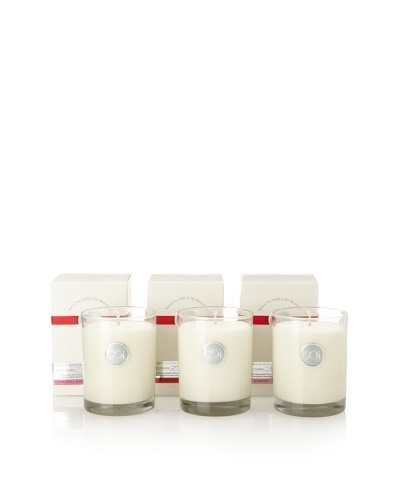 The Soi Co. Set of 3 Luxe Box Candles, Red Currant, Goddess, Love Spell Divine