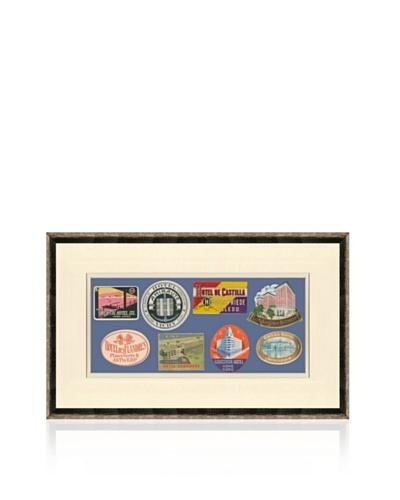 Vintage Luggage Labels – British Isles, Belgium, Italy, Japan, USA, China, France, Cuba