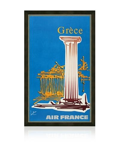 Air France: Grèce Framed Print