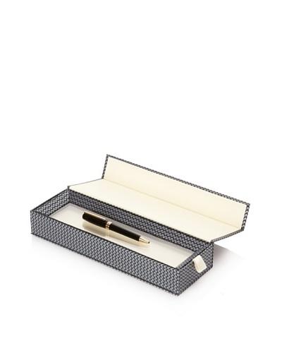 Chopard Andante Ballpoint Pen, Black/Gold Trim