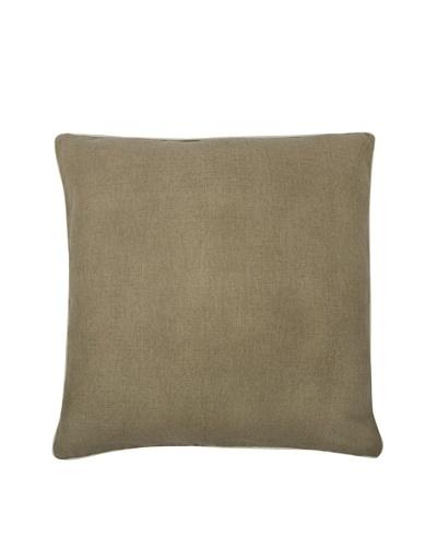 Thomas Paul Solid Feather Pillow, Mushroom