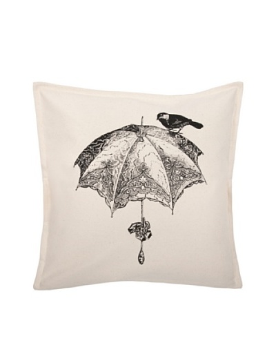 Thomas Paul Luddite Collection Parasol and Sparrow Pillow, 18