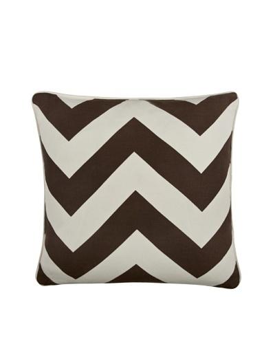 Thomas Paul Herringbone 18 Cotton Pillow, Java