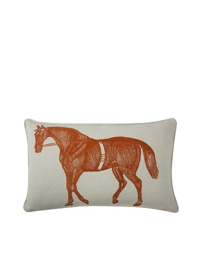 Thomas Paul Horse Feather Pillow, Alcazar