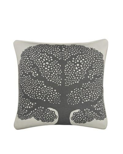 Thomas Paul Arboretumn 18 Cotton Pillow, Charcoal