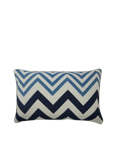 Thomas Paul Zig-Zag Feather Pillow