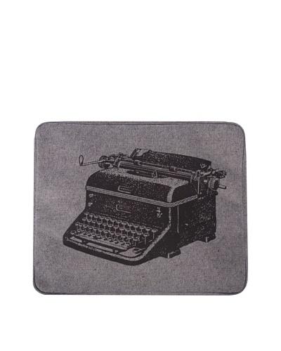 Thomas Paul Typewriter Hand-Screened Laptop Sleeve, Blue