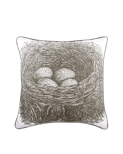 Thomas Paul Nest 18 Cotton Pillow, Slate