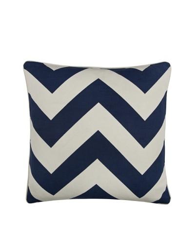 Thomas Paul Herringbone 18 Cotton Pillow, Indigo