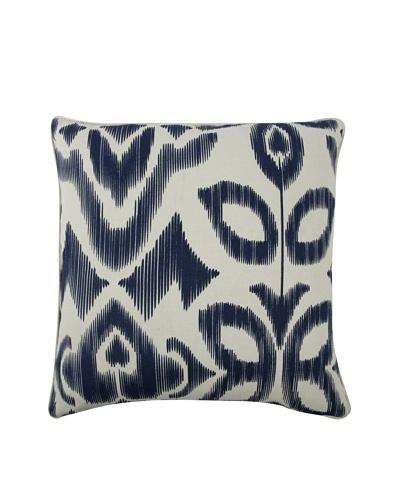 Thomas Paul Ikat-Print Feather Pillow, Indigo